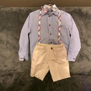 Boys formal/ nice casual shorts outfit